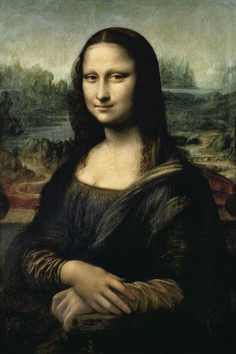 Célèbre tableau de Léonard de Vinci : La Joconde : Mona Lisa